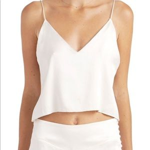 Are You Am I zillah camisole 100% silk